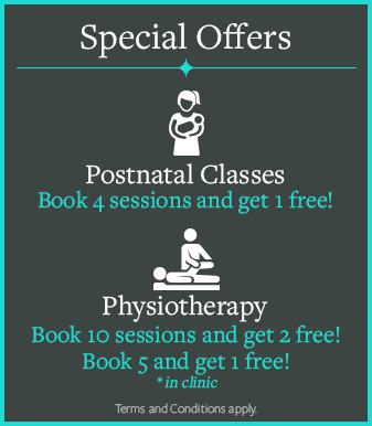 postnatal class physiotherapy offers