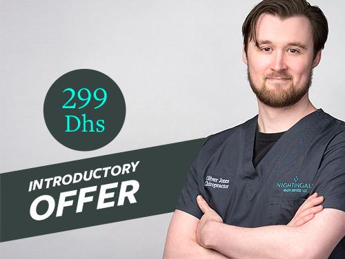 chiropractor special offer dubai
