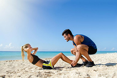 physiotherapy on summer holidays
